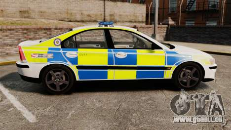 Volvo S60R Police [ELS] pour GTA 4 est une gauche