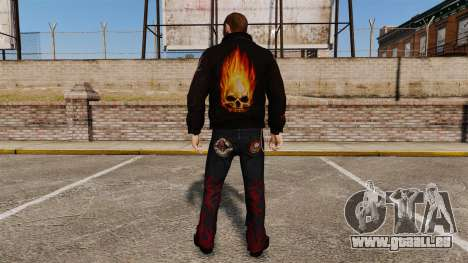 Vêtements de motard pour GTA 4 secondes d'écran