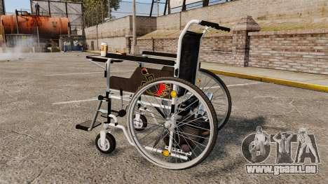 Funny Wheelchair für GTA 4 linke Ansicht