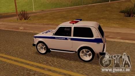 21213 Niva STR pour GTA San Andreas laissé vue