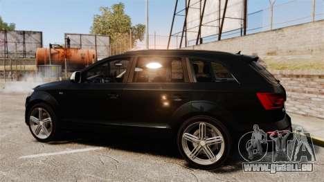 Audi Q7 Unmarked Police [ELS] pour GTA 4 est une gauche