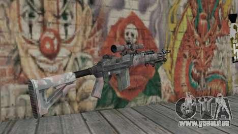 M14 EBR für GTA San Andreas zweiten Screenshot