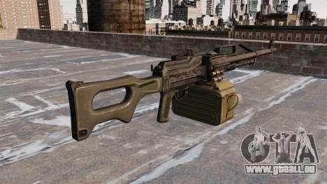 Universelle Maschine Gewehr 6P 41 für GTA 4 Sekunden Bildschirm