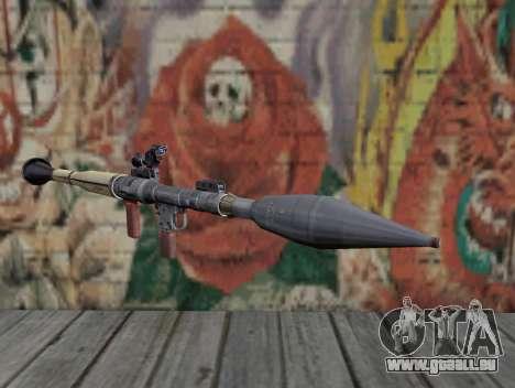 Raketenwerfer von Stalker für GTA San Andreas