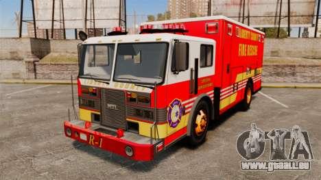 Hazmat Truck LCFR [ELS] pour GTA 4
