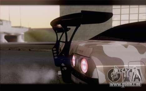 Nissan Skyline GTS Drift Spec für GTA San Andreas Rückansicht