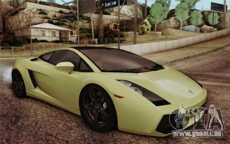 Lamborghini Gallardo SE für GTA San Andreas
