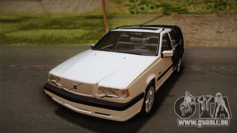 Volvo 850 Estate Turbo 1994 pour GTA San Andreas vue de dessus