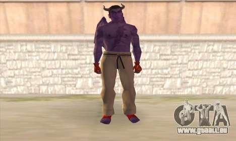 Devil Kazuya Mishima pour GTA San Andreas