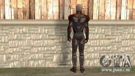 Renard gris pour GTA San Andreas deuxième écran