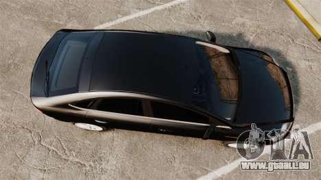 Ford Mondeo Unmarked Police [ELS] für GTA 4 rechte Ansicht