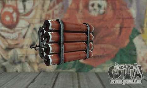 Dynamite für GTA San Andreas zweiten Screenshot