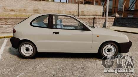 Daewoo Lanos S PL 1997 pour GTA 4 est une gauche