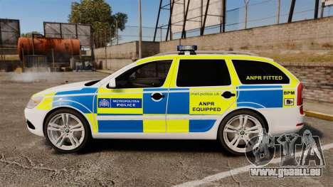 Skoda Octavia Scout RS Metropolitan Police [ELS] für GTA 4 linke Ansicht