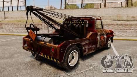 Chevrolet Tow truck rusty Rat rod für GTA 4 hinten links Ansicht