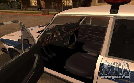 VAZ 2106 DPS für GTA San Andreas rechten Ansicht