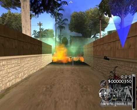 C-HUD by 6a6yuH pour GTA San Andreas troisième écran