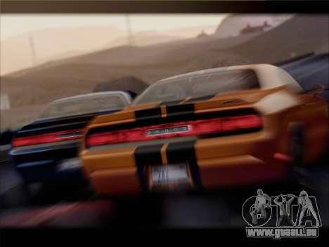 Dodge Challenger SRT8 2012 HEMI für GTA San Andreas Seitenansicht