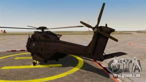 Eurocopter NHIndustries NH90 [EPM] pour GTA 4 Vue arrière de la gauche