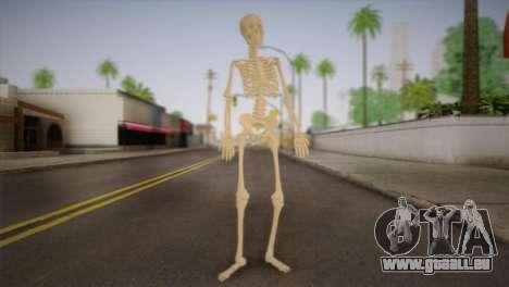Skelett für GTA San Andreas