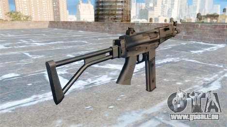 Taurus-Maschinenpistole MT-40 für GTA 4 Sekunden Bildschirm