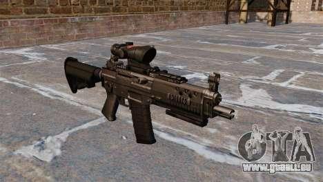 Le fusil d'assaut SIG 552 pour GTA 4