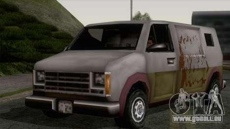 Hauben Rumpo XL von GTA 3 für GTA San Andreas