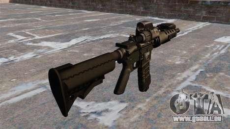 Automatische M4 tactical carbine für GTA 4 Sekunden Bildschirm