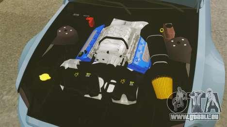 Ford Mustang GT 2013 Widebody NFS Edition für GTA 4 Innenansicht