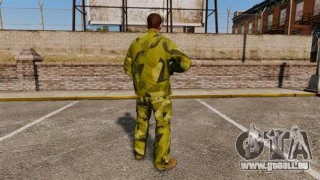 Die schwedische Camouflage-uniform für GTA 4 Sekunden Bildschirm