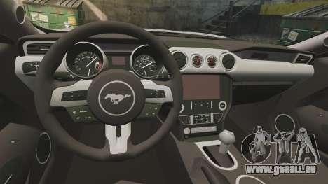 Ford Mustang GT 2015 Sticker Bombed für GTA 4 rechte Ansicht