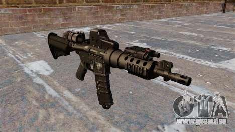 Automatische M4 tactical carbine für GTA 4