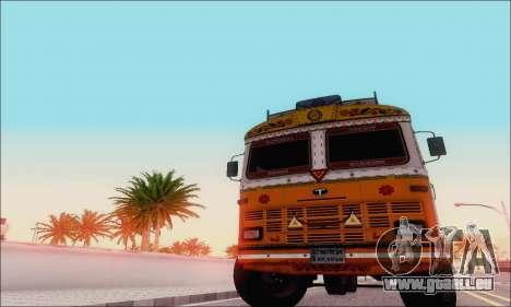 TATA 2515 pour GTA San Andreas laissé vue