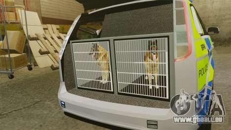 Ford Focus Estate Metropolitan Police [ELS] pour GTA 4 Vue arrière