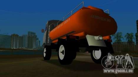 UAZ 465 Truck pour une vue GTA Vice City de la droite