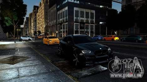 BMW X6 M Hamann 2013 Vossen für GTA 4 Innenansicht
