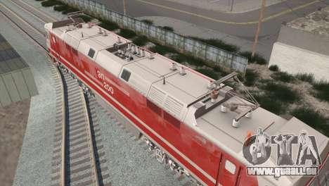 ÈP200-0001 für GTA San Andreas Innenansicht