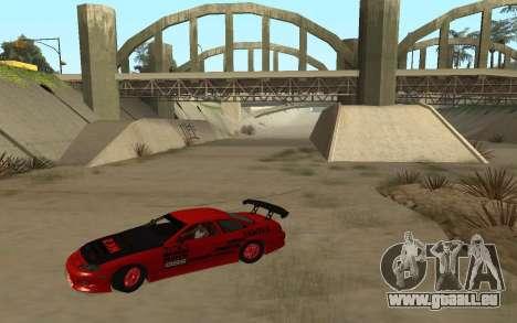 Toyota Soarer für GTA San Andreas linke Ansicht