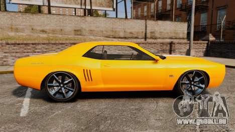 GTA V Gauntlet 450cui Turbocharged pour GTA 4 est une gauche