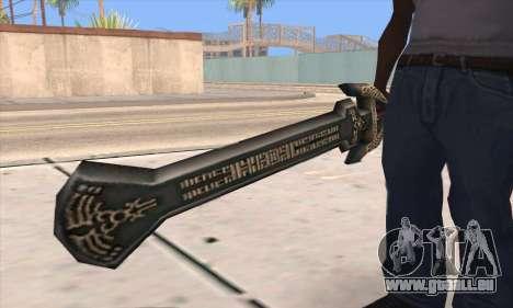 Sword of Darknut für GTA San Andreas dritten Screenshot