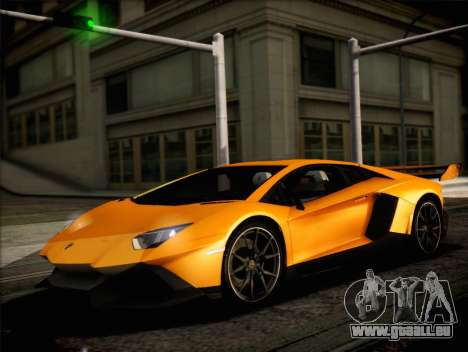 Lamborghini Aventador LP720 pour GTA San Andreas vue de droite