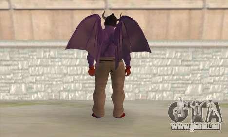 Devil Kazuya Mishima pour GTA San Andreas deuxième écran