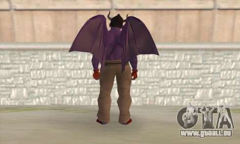 Devil Kazuya Mishima für GTA San Andreas zweiten Screenshot