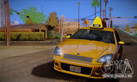 Declasse Premier Taxi für GTA San Andreas linke Ansicht