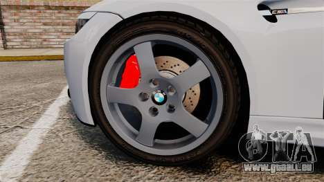 BMW M3 E92 für GTA 4 Rückansicht