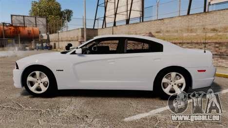 Dodge Charger RT 2012 Unmarked Police [ELS] für GTA 4 linke Ansicht