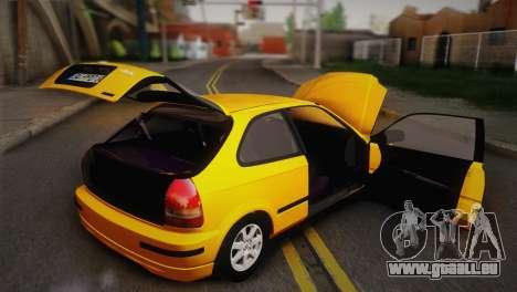 Honda Civic 1.4is TMC für GTA San Andreas Seitenansicht