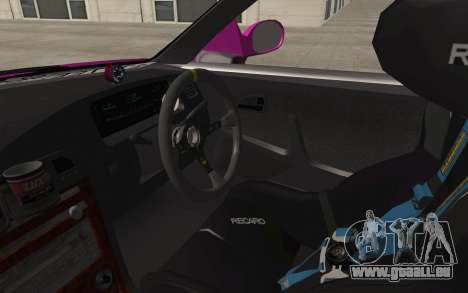 Toyota Mark 2 für GTA San Andreas Innenansicht
