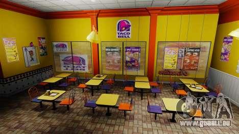 Manger McDonald ' s et Taco Bell pour GTA 4 septième écran