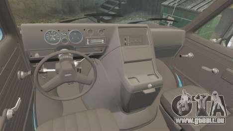 GMC Vandura G-1500 1983 Tuned [EPM] Frozen pour GTA 4 est une vue de l'intérieur